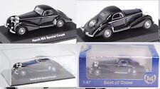 BoS-Models 87350 Horch 853 Stromlinien Coupé, schwarz, 1:87