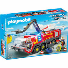 PLAYMOBIL Airport Fire Engine with Lights and Sound - City 5337