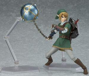The Legend of Zelda: Twilight Princess Link Dx Ver. Figma 320 Figure Toy in Box