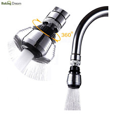 360°Rotate Faucet Nozzle Filter Water Saving Tap Diffuser Kitchen accessories
