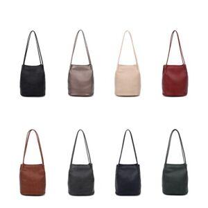 Women's Long Handle Soft Leather Shopper Shoulder Tote hobo handbag/ Spacious