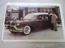 1958 CADILLAC AMBULANCE   11 X 17  PHOTO  PICTURE