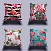de Palma Decoracion Dormitorio Flamingo Ave funda de cojin Throw Pillow Case