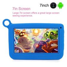 "7"" Tablet PC Android WIFI 512M RAM 8GB ROM 2600mAh Blu Per Bambini Baby."