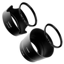 Kit Gegenlichtblenden UV Filter 58mm passt zu Canon 18-55 55-250 IS STM EOS 80D
