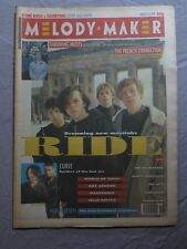 MELODY MAKER 16th March 1991 ~ Ride ~ Throwing Muses ~ Jello Biafra!