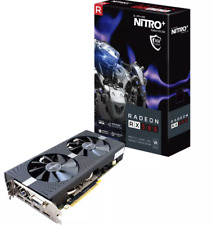 SAPPHIRE NITRO+ RADEON RX 580 4G GDDR 5 Like New. Graphics card for gaming. Good