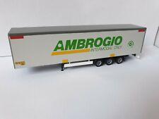 Herpa-Ambrogio Trasporti S.p.A. intermodal only-Italy-Bahn tráiler-Caballito - 19
