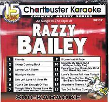 Chartbuster Karaoke Artist Series CD+G #9112 Razzy Bailey 15 Song kareoke cdg