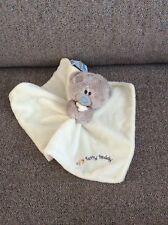 Me To You Tiny Tatty Teddy Bear Baby Comforter Comfort Blanket Blue Nose Friends