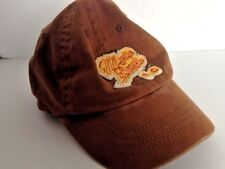Child's souvenir hat Myrtle Beach South Carolina brown with yellow fits child