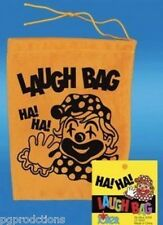 1 LAUGH BAG Laughing Sound Toy Prank Joke Gift Funny HA Box Clown Squeeze Trick