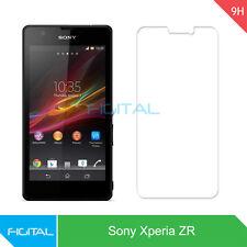 sony xperia ZR Tempered Glass Screen Protector - Figital Branded