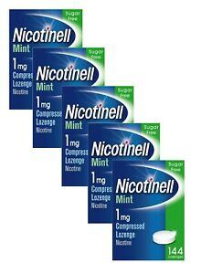 Nicotinell Mint 1mg Compressed Lozenge 144 pieces x 5 (720 Lozenges)