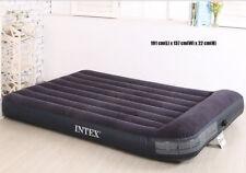 Genuine Intex Twin Plush Raised Air Bed Inflatable Mattresses