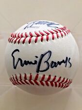 Ernie Banks-Sadaharu Oh-Tommy John Autographed Baseball PSA/DNA Certified