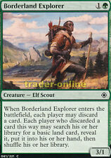 4x Borderland Explorer (Borderland Explorer) Conspiracy: Take the Crown Magic