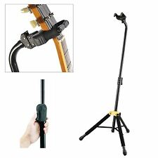 Hercules GS414B 'Auto Grip System' Single Guitar Stand. Pro Quality Stage Stand.