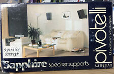 Pivotelli S-W-US Sapphire Speaker Supports White