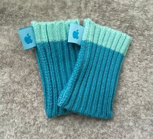 for Apple iPod Nano 3rd or 7th Generation Socks ///BLUE/// Twin Pack