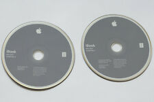 iBook mac OS X install disc set Mac OS vesion 10.2.1 2002