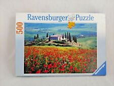 SUMMER IN TUSCANY A 500 PIECE JIGSAW BY RAVENSBURGER Puzzle Floral Cottage