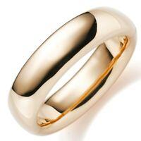 19,5mm Armreif Armband Armschmuck aus 585 Gold Rotgold glatt glänzend, Damen