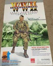 "NIB Dragon 12"" - WW2 Normandy 1944 ""William"" 101st Screaming Eagle Paratrooper"