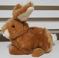 GUND BROWN BABS BROWN BUNNY RABBIT PLUSH TOY! SOFT TOY ABOUT 21CM LONG KIDS TOY!