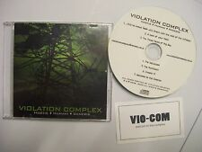 VIOLATION COMPLEX Hostis-Humani-Generis – 2009 CD sampler – Death Metal – RARE!