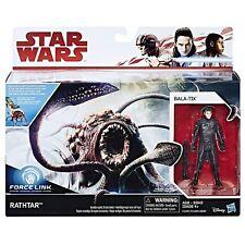 Star Wars The Last Jedi Force Link RATHTAR & BALA-TIK 3.75 Figure Creature Pack