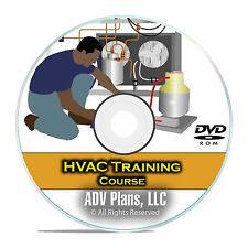 HVAC Technician Training Class, Learn Heating & Air Conditioning Basics DVD E97