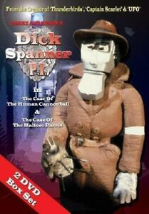 Gerry Anderson's Dick Spanner Pi P.I. DVD - Stop Motion Animation - 1987