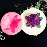 Lilac Flower Silicone Mold Fondant Chocolate Cake Baking Mold SL
