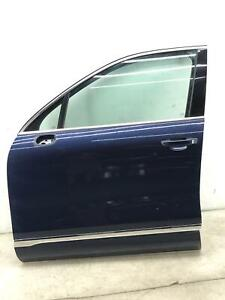 2011-2017 VOLKSWAGEN TOUAREG LEFT FRONT DOOR SHELL NIGHT BLUE *FLOOD RECOVERY*