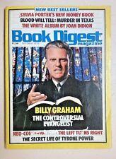 Book Digest Magazine (Oct 1979 Vol 6 # 10) Billy Graham Steve Martin Bjorn Borg