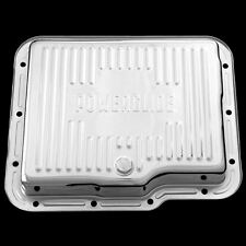 Chrome Transmission Pan Fits Chevy Powerglide Chevrolet Trans 2 speed