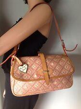 Dooney and Bourke Purse Bag Crossword Collection Designer Fashion Stylish Chic.