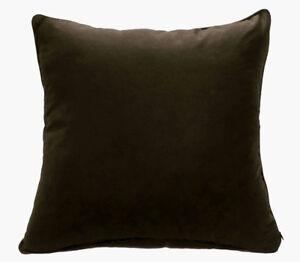 Rc521a Dark Brown Soft Pure Cotton Fabric Cushion Cover/Pillow Case*Custom Size*