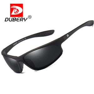 DUBERY Sport Polarized Sunglasses For Men Outdoor Driving Cycling UV400 Glasses