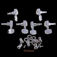 6 Pro Chrome 3L+3R Guitar String Tuning Pegs Keys Tuners Machine Heads S #T1K