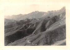 Foto Wehrmacht Soldaten Marsch nach Kavala Griechenland Gebirge Berge 2.WK