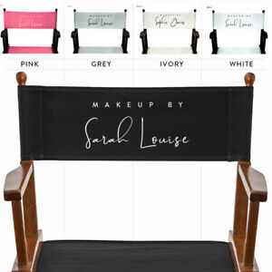 Personalised Replacement Canvas Set for Makeup Artist & Folding Directors Chairs