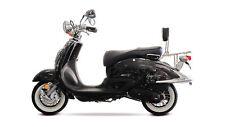 EasyCruiser ECO schwarz 50CCM 45 Km/h Retro Motorroller Scooter Mofa Roller