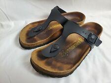 Birkenstock Gizeh Thong Sandal size 36 L5 Black