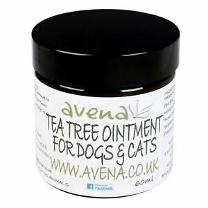 Dogs Cats Natural Tea Tree Ointment Stings Itching Bites Insect Repellent New