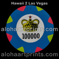 New listing 48mm Paulson casino clay poker chip extremely rare! Stands on edge Easily
