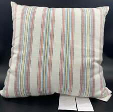 """Pottery Barn Lance Multi Striped Indoor/Outdoor Pillow, 22""""x 22"""", Free Shipping"""