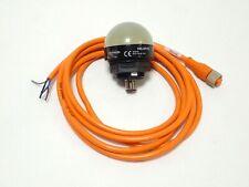 BANNER K50LGRYPQ 3 COLOR GENERAL PURPOSE INDICATOR LIGHTS EZ-LIGHT PNP w/ CABLE