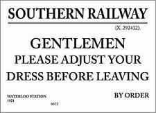 SR Railwayana Plates & Signs
